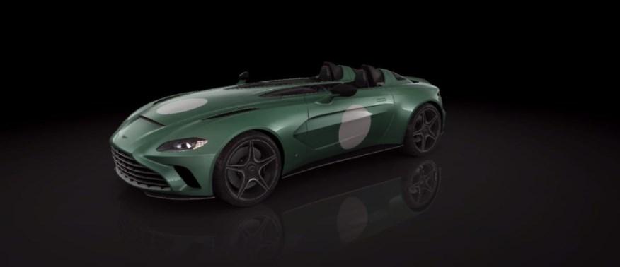 Настройки Aston Martin V12 Speedster DBR1 в CSR 2