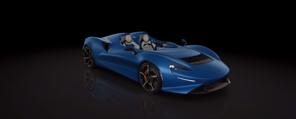 Настройки McLaren Elva в CSR 2