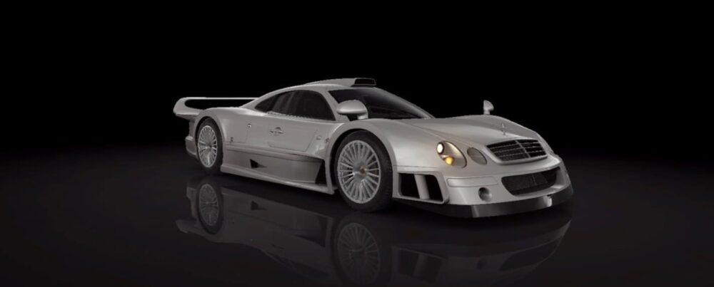 Настройки Mercedes CLK-GTR в CSR 2